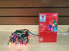 Home Accents Holiday Christmas Multi Color 100 Mini String Lights Indoor  Outdoor