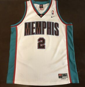 promo code 901bc fbdbd Details about Rare Vintage Nike NBA Memphis Grizzlies Jason Williams  Basketball Jersey
