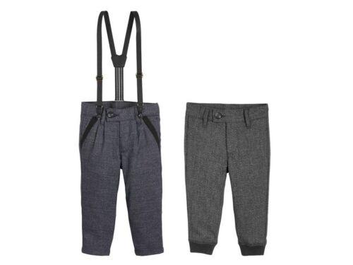 Pantalon Garçon Costume Occasions Spéciales 12 18 24 Mois 2 3 4 5 6 ans bleu marine noir