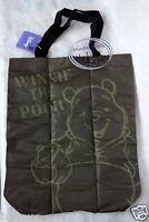 Disney WINNIE THE POOH ECO Satchel Tote BAG Weekend Shopping Purse Bags School