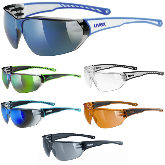 Uvex Sportstyle 204 Mirror Cycling Sun Glasses Sunglasses All Colours   factory direct sales