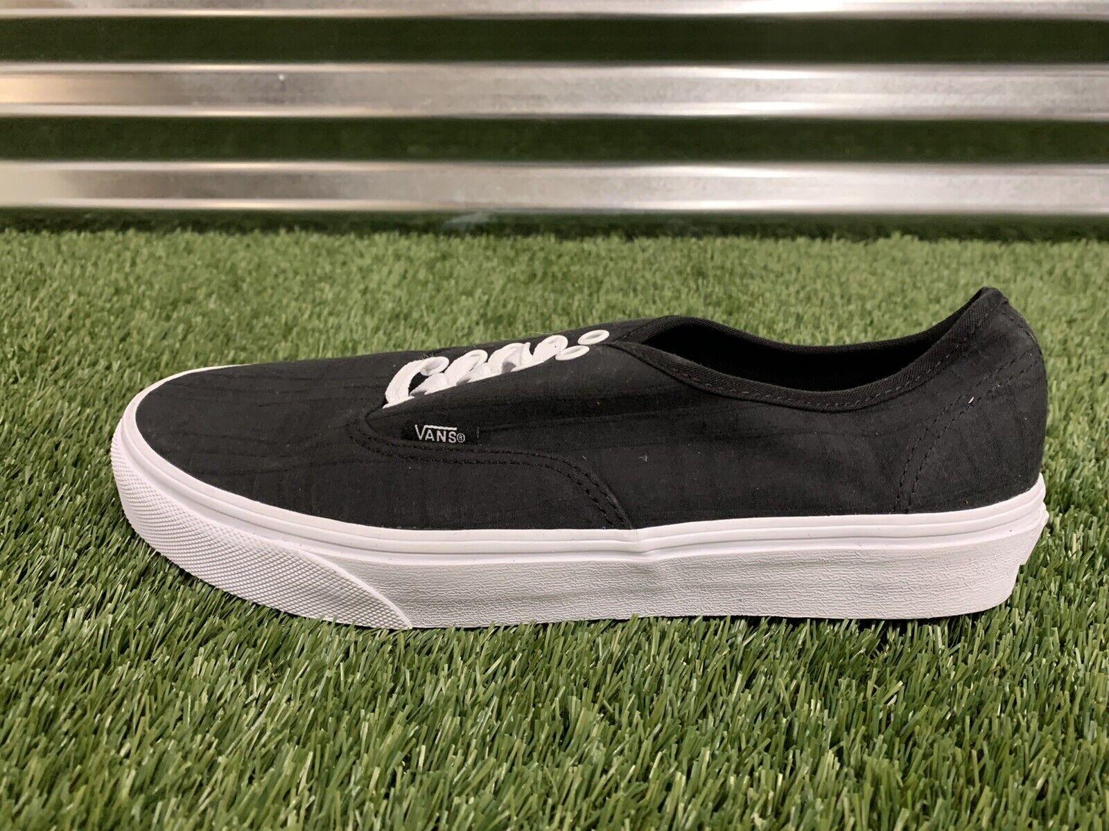 Vans Authentic Tonal Plaid Skate Shoes