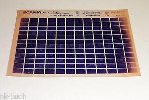 Microfiche-Spare-Parts-Catalog-Parts-Catalogue-Scania-Series-DS-11-Motor-11-1984