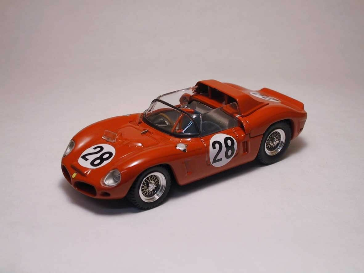 Ferrari dino 246 sp   28 le - mans - 1962 1 43 modell 0042 art-model