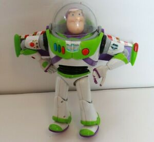 """Buzz Lightyear Thinkway Toys Disney Toy Story 12"""" Talking Lights Up"""