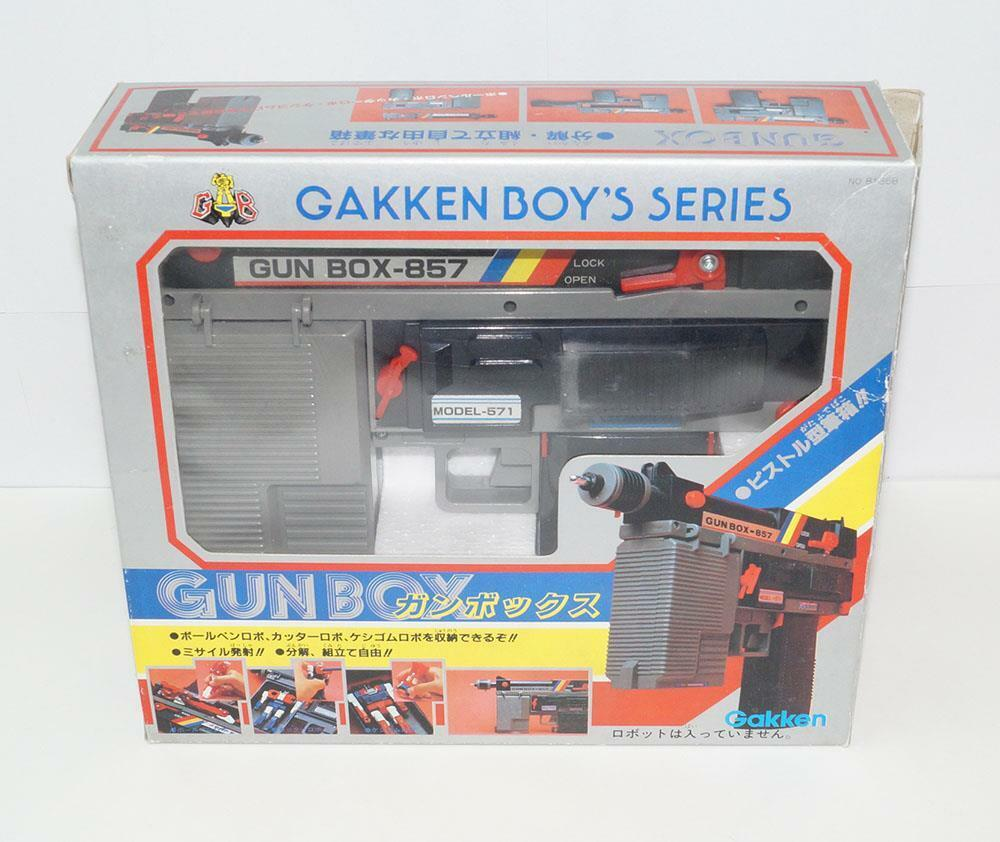 Gakken junge serie waffe box-857 model-571 mib action - figur