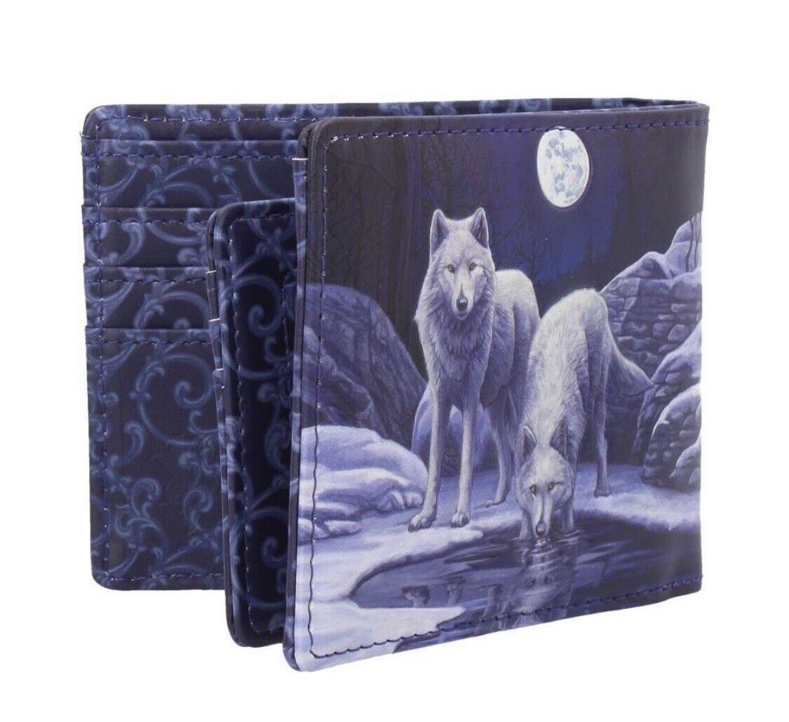 Warriors Of Winter Wallet Nemesis Now B3951K8 Lisa Parker White Wolf Wolves