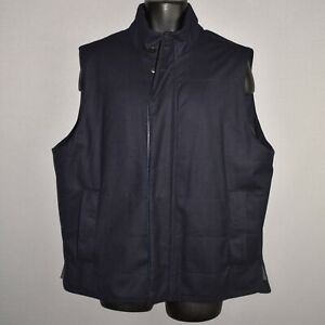 FACONNABLE-1695-FACORAIN-Quilted-Wool-Flannel-Gilet-Vest-IT-56-XL