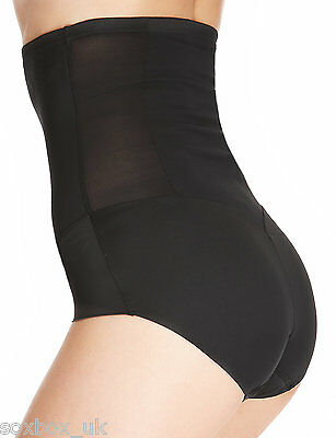 New M/&S Collection BLACK Firm Control  Magicwear Under bust  Body Shaper 8 10 12