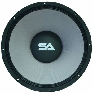 Seismic Audio 18 Raw Subwoofers Woofers Speakers 240 oz Magnet 1500W