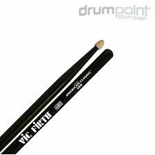 6 Paar Vic Firth 5B Black American Classic Sticks Drumsticks Stöcke  *TOPDEAL*