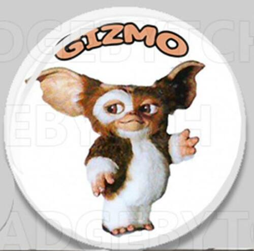 25mm and 56mm size! GREMLINS CLASSIC GIZMO Badge Button Pin