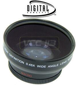 Wide-Angle-0-45X-Lens-For-Kodak-Easyshare-Z710-Z740-ZD710-Z8612-IS-Z650