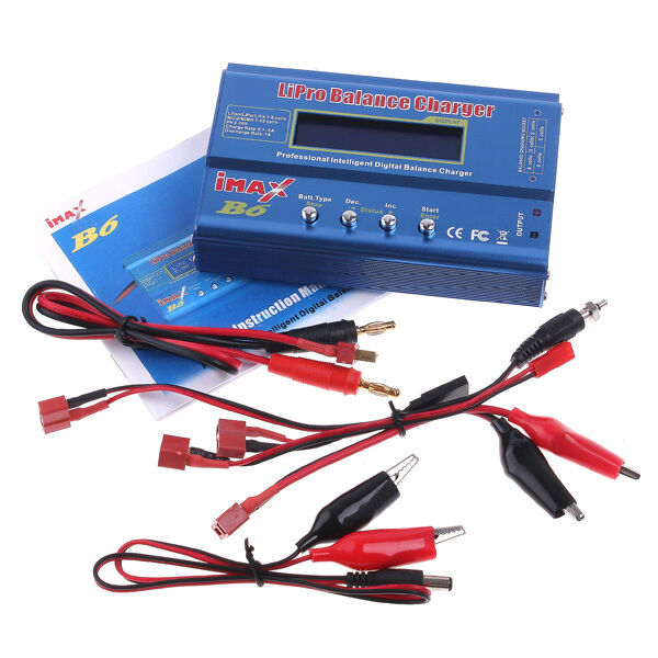IMax B6 Digital LCD RC Lipo/NiMh/Li-ion/LiFe Battery Balance Charger US Stocks