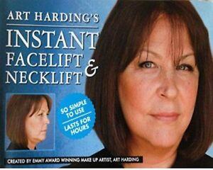 ANTI AGEING ANTI WRINKLE INSTANT FACELIFT NECK LIFT TAPES KIT ART HARDING UK