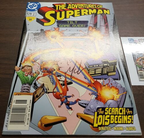 1987 Details about  /The Adventures of Superman #0-636 Annual 1-4 EACH SIGNED w//Notarized WOS
