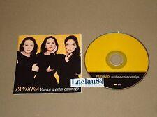 Pandora Vuelve A Estar Contigo 1999 Emi Cd Mexico