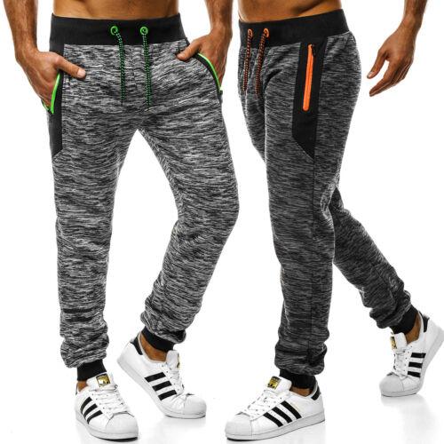 Pantaloni Allenamento Fitness Jogging Pantaloni Casual Jogger Uomo OZONEE js//55053