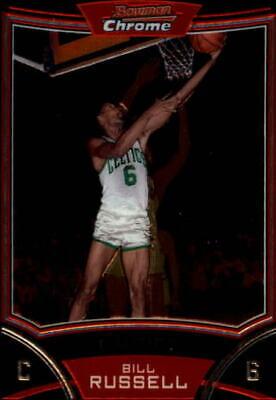#82 Bill Russell 2009-10 2009 Bowman 48 Basketball Card