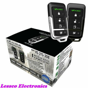Excalibur-RS-375-3DB-Deluxe-1-Way-Remote-Start-amp-Keyless-Entry-System
