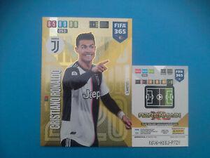 Panini-Adrenalyn-Fifa-365-2019-20-XXL-Limited-Edition-Cristiano-Ronaldo