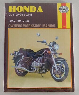 SC 02 ab Baujahr 1980 Reparaturanleitung Honda GL 1100 Gold Wing ...