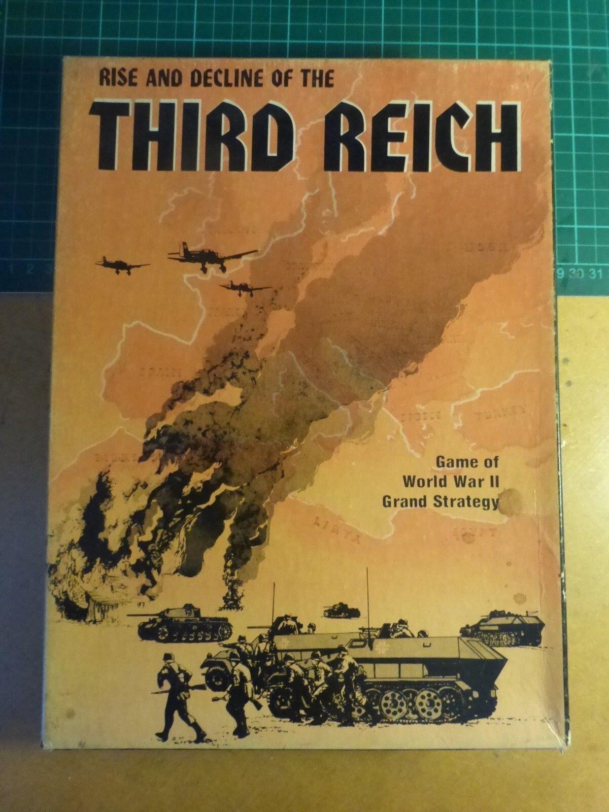 Third Reich COMPLETE  by Avalon Hill  WW2 Wargame