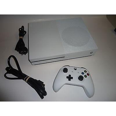 MICROSOFT XBOX ONE S  CONSOLE 1TB WHITE MODEL 1681