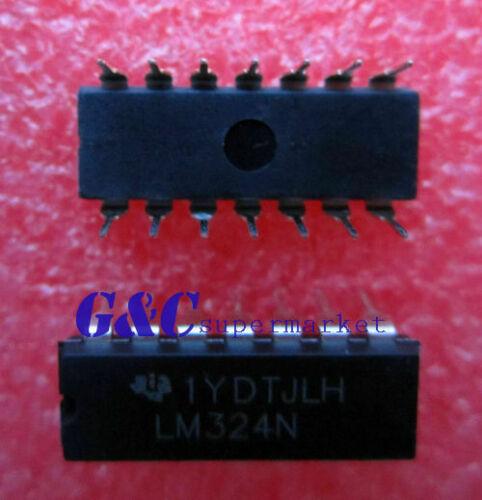 50PCS IC LM324N LM324 DIP14 TI Low Power Quad Op-Amp A2TM