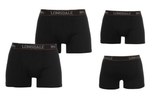 2 Pack Lonsdale London Trunks Boxer Short Boxers Pants XS S M L XL XXL 3XL 4XL