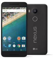 Lg Nexus 5x Unlocked Lg-h790 4g Lte 32gb Fingerprint Sensor Black Cdma Gsm