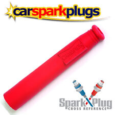 1x Champion Spark Plug Caps Rubber Red SRO5U