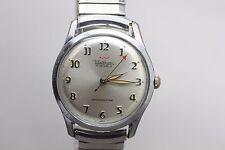 Vintage Original Waltham 17j Hand Wind Warm Patina Wristwatch Mens Watch