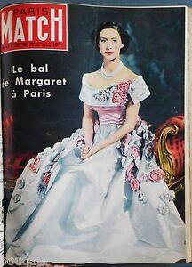 RARE-PARIS-MATCH-1951-TROISIEME-ANNEE-COMPLETE-52-numeros-relies-en-2-volumes