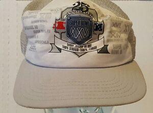 vintage 1991 super bowl XXV 25 trucker hat snapback new era ... 4229bf60a