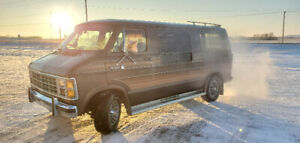 Classic Dodge Van Ready To Drive