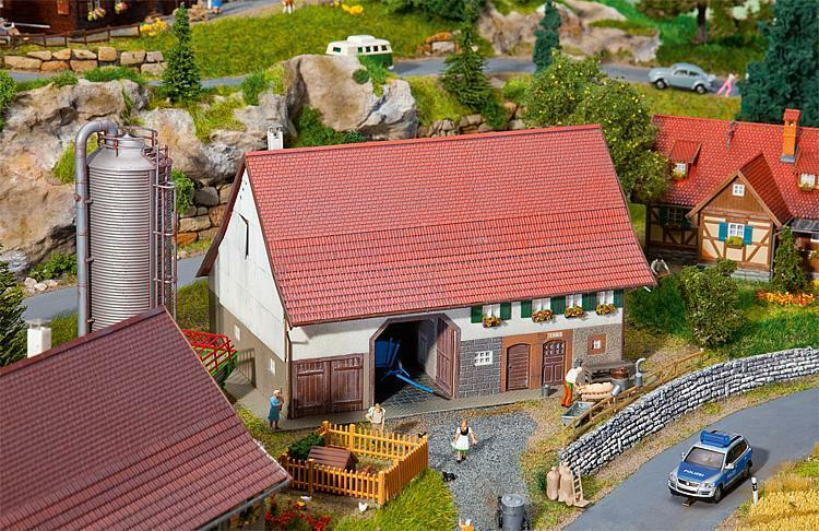 130535 Faller HO 1 87 Bausatz Großes Bauernhaus - NEU + OVP