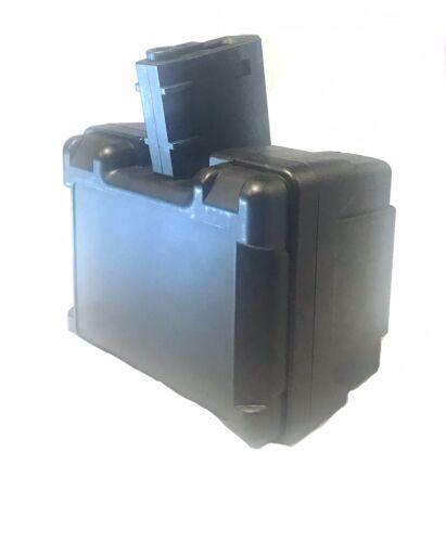 Airsoft Black HK416//M4 Drum Magazine W// Auto Wind And Sound Control