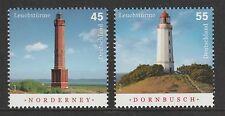 Germany 2009 Lighthouses SG 3606-3607 MNH