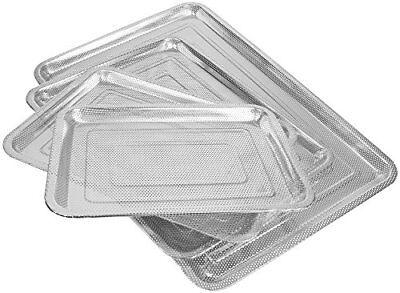 Edelstahl Grillblech Grillplatte Grill-Teller Bratplatte Bratpfanne Gemüseplatte