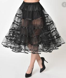 Unique Vintage Crinoline Style Tea Length Petticoat BRAND NEW