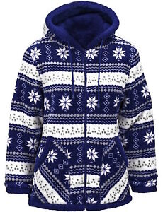 81cbee898e1b Image is loading TrailCrest-Women-039-s-Snowflake-Nordic-Bonded-Double-
