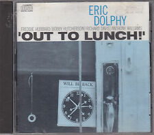 ERIC DOLPHY - out to lunch CD