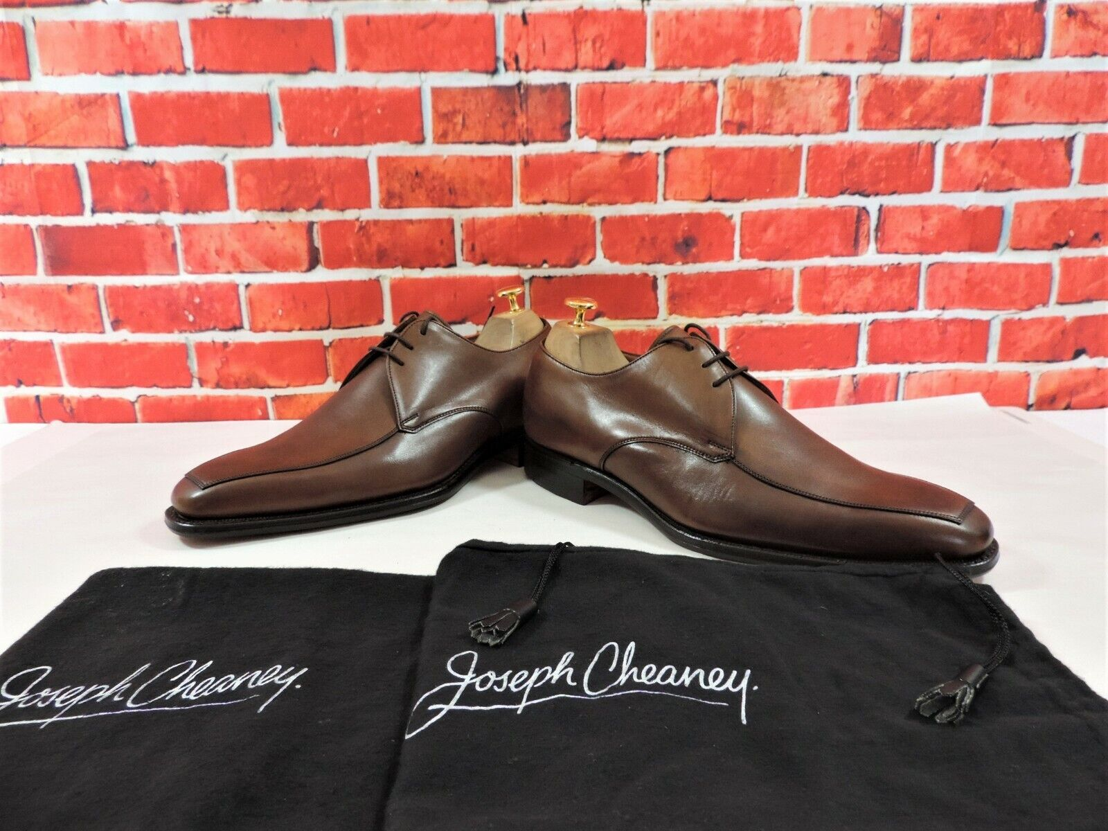 Neu Church& 039;s Cheaney Derby UK 7 Uns 8 Gr. 41 F Rpp Hellbraun Linford