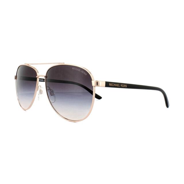 ed3af7ecf1 Michael Kors Sunglasses Hvar 5007 109936 Rose Gold Brown Gradient