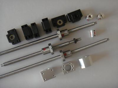 3 anit backlash lead screw ball screw ballscrews 1605-1250//1350//1350mm-C7 cnc