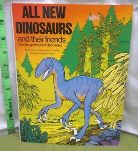 Details about ALL NEW DINOSAURS coloring book Mesozoic Era 1990 Triassic  kids Podopteryx