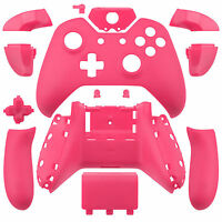 Wireless Controller Full Shell Case Housing For Xbox One Matte Pink