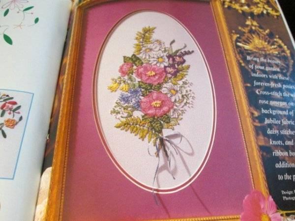 Cross Stitch & Needlework April 1997 Magazine-Tea Pots/Floral ABC/House Sampler/