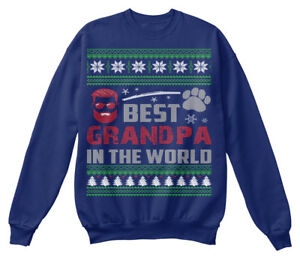 Christmas shirt Sweat Ugly Best 2018 Sweater Confortable Grandpa z6SqHw56